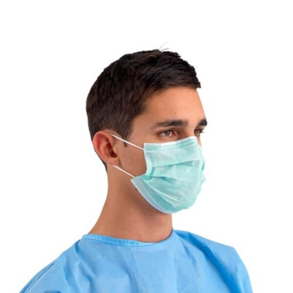 Surgical Face Mask with Ear Loops 50 pack